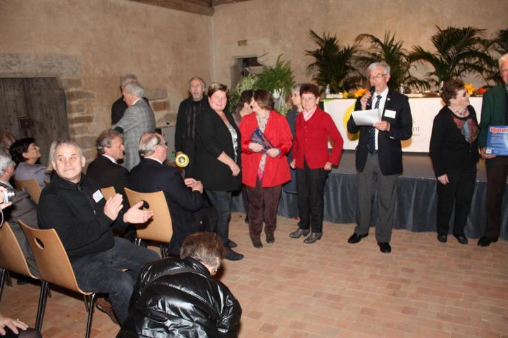 Le club de St Biez en Belin 4ème au concours culturel 2013