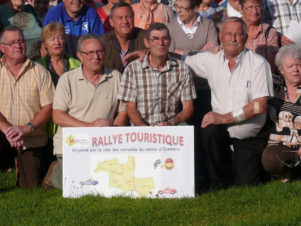 1er rallye touristique retraités canton d'ECOMMOY - 20 juin 2014