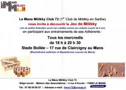 Molkky club le mans